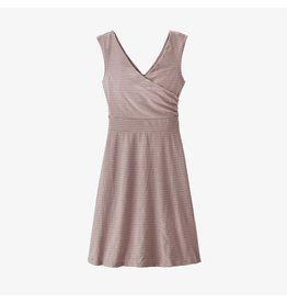 Patagonia Womens Porch Song Dress High Tide: Stingray Mauve