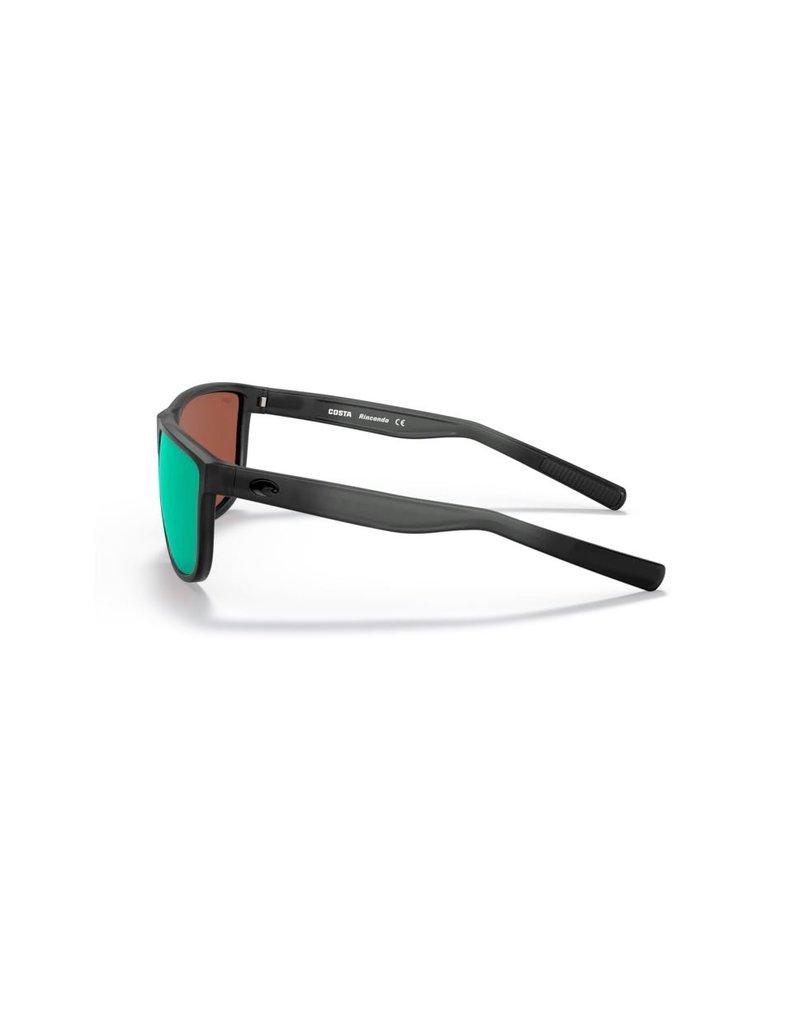 Costa Del Mar Rincondo Matt Smoke Crystal Green Mirror 580G