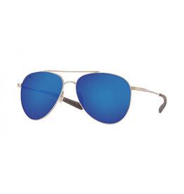Costa Del Mar Cook Brushed Palladium  Blue Mirror 580G