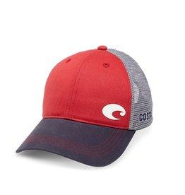 Costa Del Mar Offset Logo Trucker Hat
