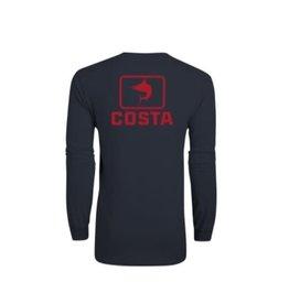 Costa Del Mar Emblem Marlin T-Shirt Navy