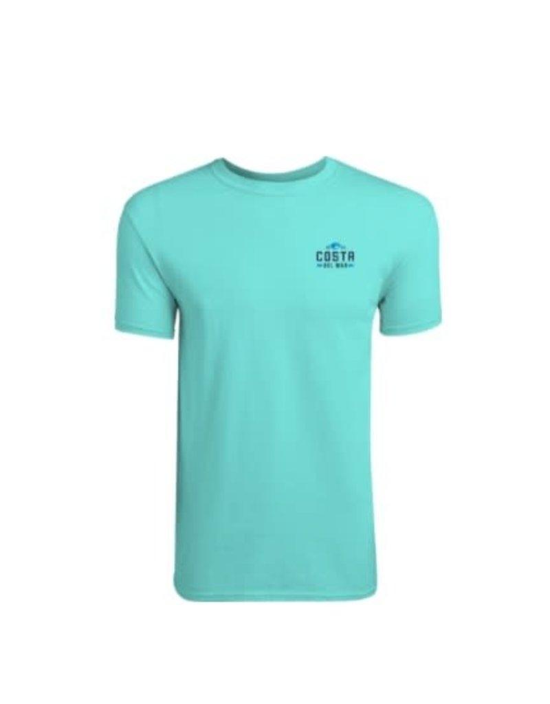 Costa Del Mar Prado T Shirt Carribean