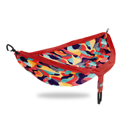ENO- Eagles Nest Outfitters DoubleNest Print Retro / Red