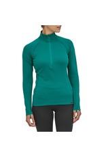 Patagonia Women's Cap MW Zip Neck Borealis Green