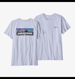Patagonia Women's  P-6 Logo Organic Crew T-Shirt
