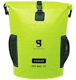 Geckobrands Backpack Dry Bag 30L Cooler Neon Green