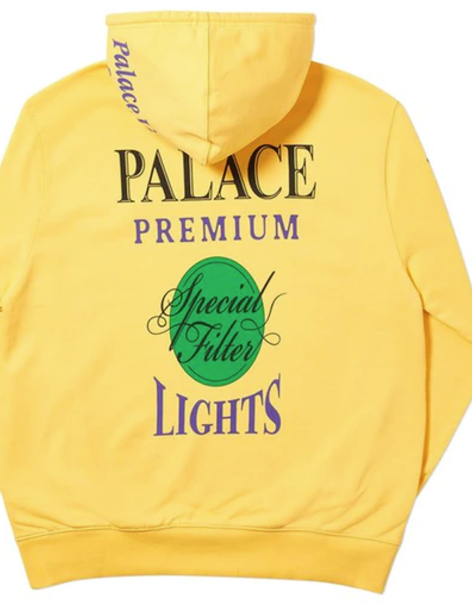 PALACE Blender Hood Yellow LG