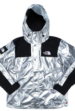 SUPREME The North Face Metallic Mountain Parka Silver WORN MED