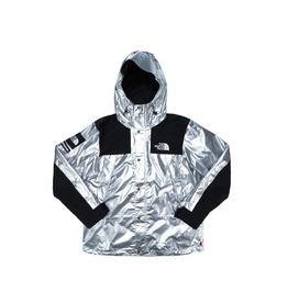 SUPREME Supreme The North Face Metallic Mountain Parka Silver WORN MED