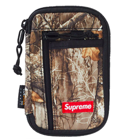 SUPREME Supreme Small Zip Pouch Real Tree Camo