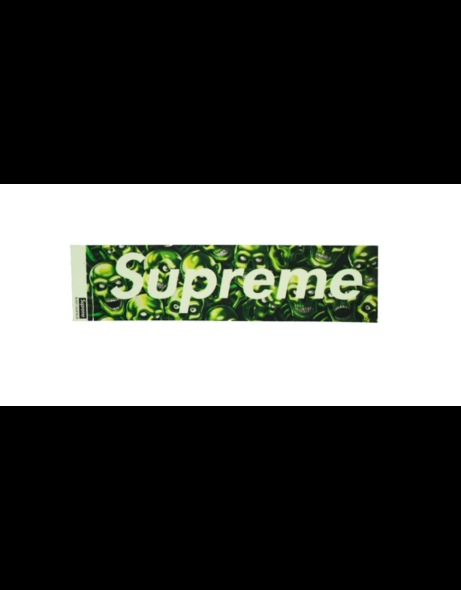 SUPREME Supreme Skull Pile Box Logo Sticker (Glow)