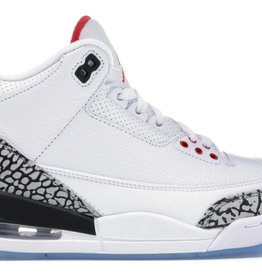 JORDAN Jordan 3 Retro Free Throw Line White Cement
