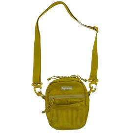 SUPREME Supreme Small Shoulder Bag Acid Green WORN