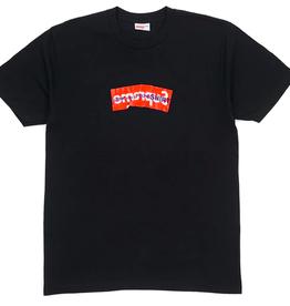 SUPREME Supreme Comme Des Garcons SHIRT Box Logo Tee Black LG