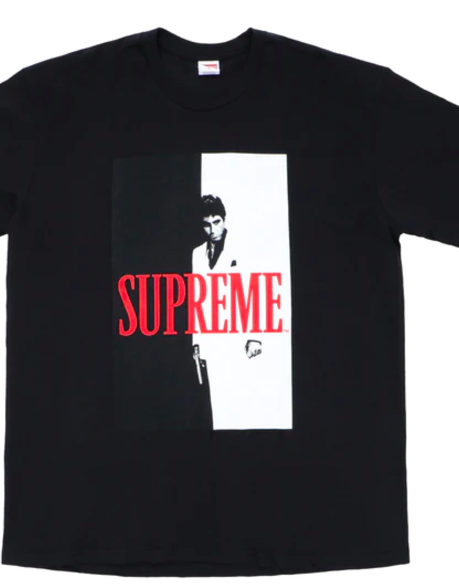 SUPREME Supreme Scarface Split Tee Black WORN MED