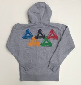 PALACE Olympic Zip Up Hoodie WORN MED