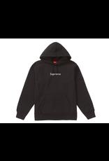 SUPREME Swarovski Box Logo Hooded Sweatshirt Black SMALL