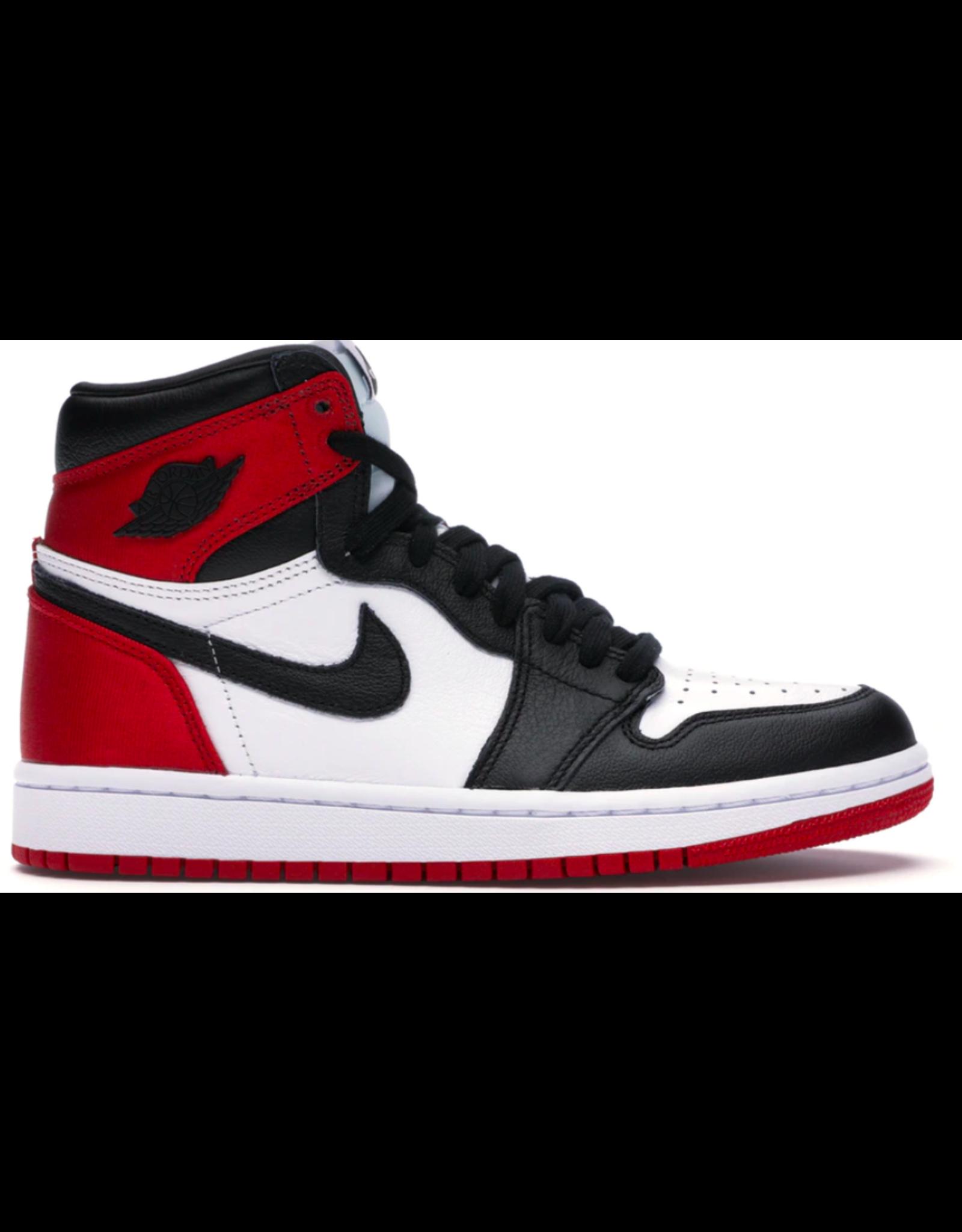 JORDAN Jordan 1 Retro High Satin Black Toe (W)