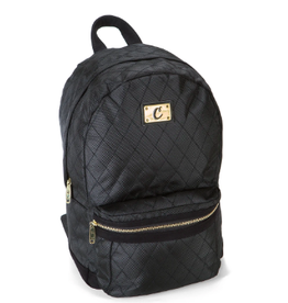 COOKIES V3 Quilted Nylon Smell Proof Suede Backpack