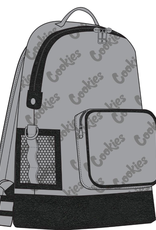 COOKIES Luxe Satin Repeated Logo Backpack