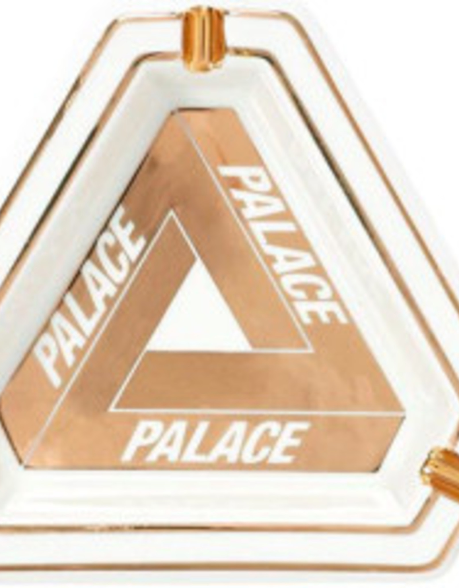 PALACE DOUSED-PALACE TRI-FERG CARAMIC ASHTRAY WHITE DSQ
