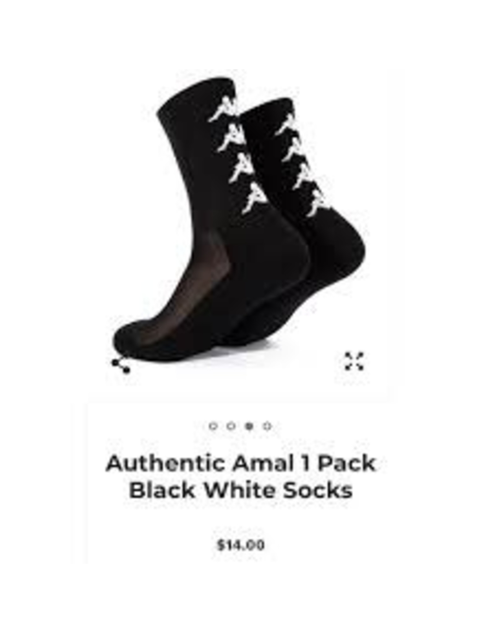 AUTHENTIC AMAL 1 PACK BLACK-WHITE