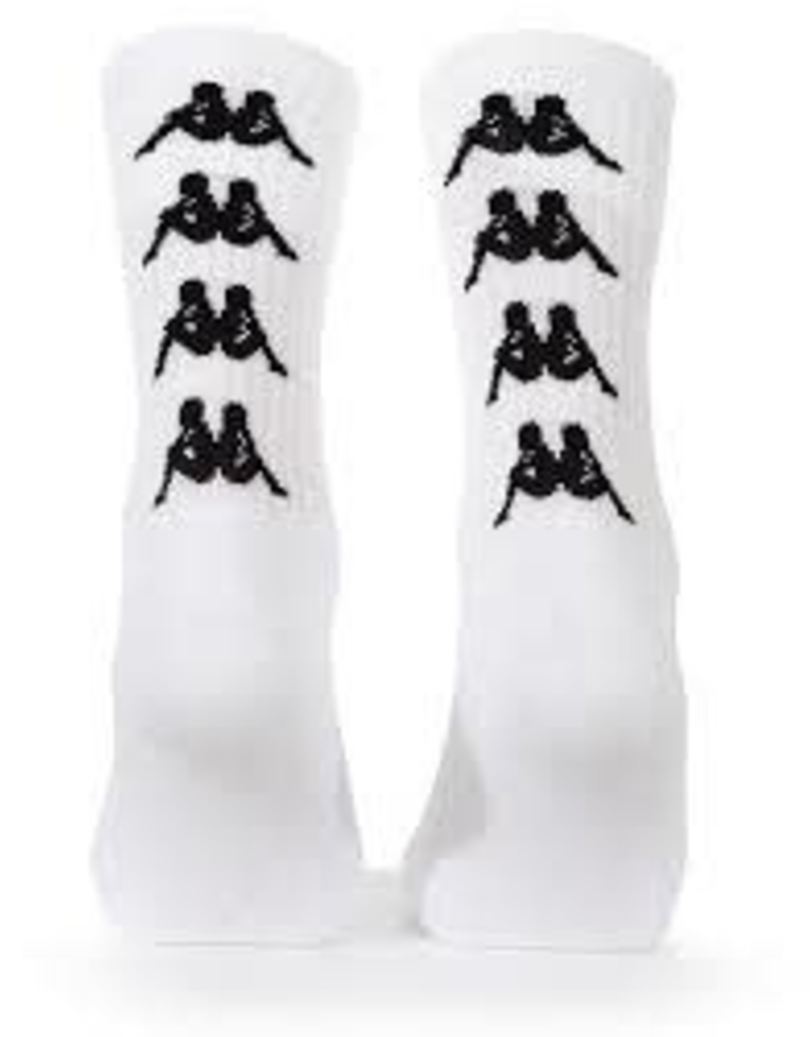 KAPPA AUTHENTIC AMAL 1PACK WHITE-BLACK