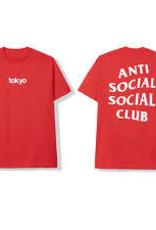 ASSC ASSC TOKYO RED TEE