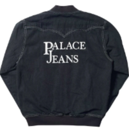 PALACE EANS BOMBER BLK, LARGE