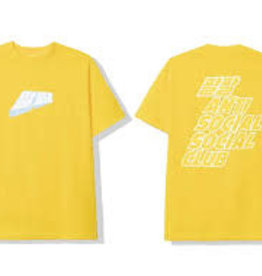 ASSC MIDNIGHT CLUB YELLOW TEE