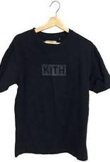 KITH BOX LOGO BLUE WORN XL