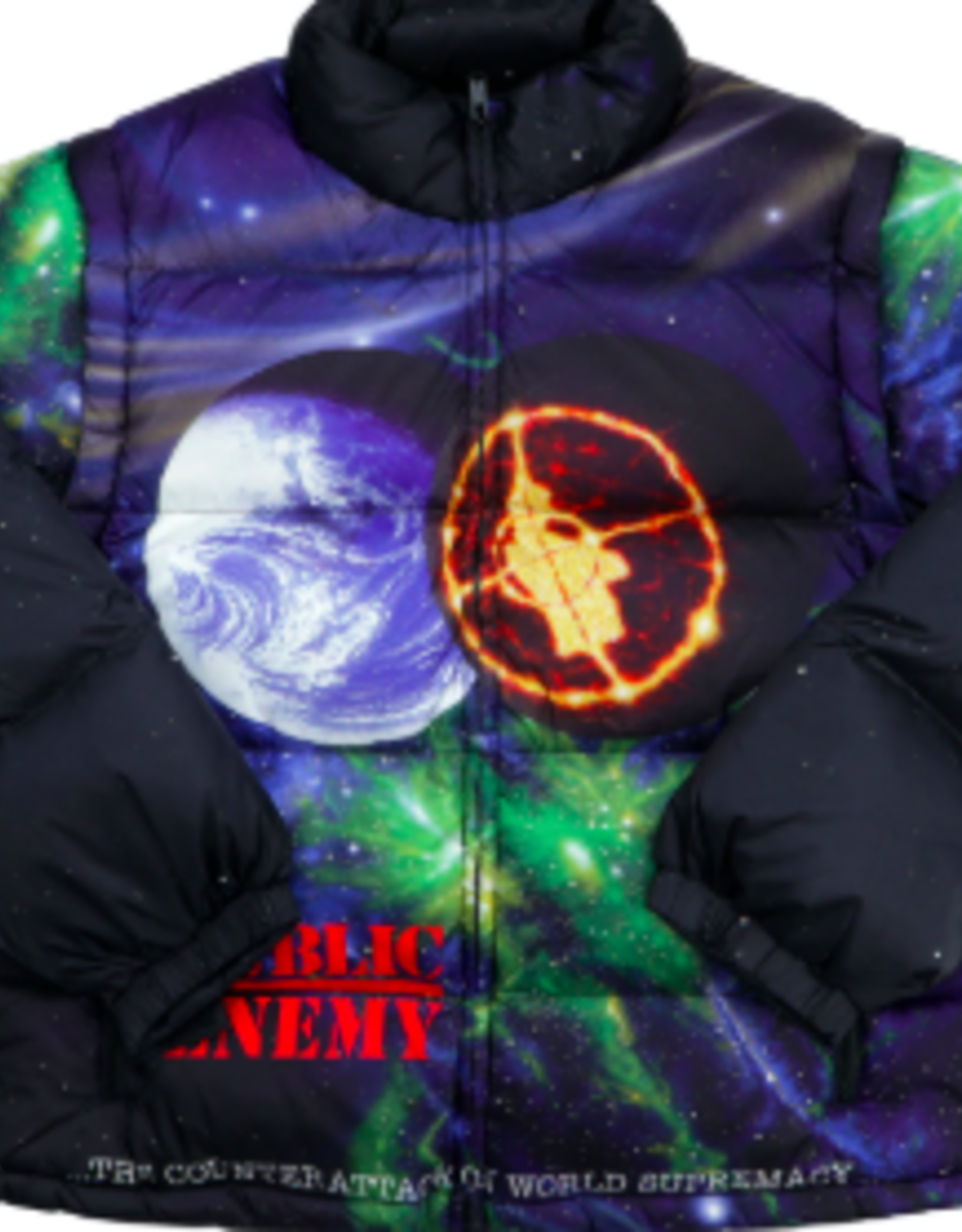 SUPREME UNDERCOVER/Public Enemy Puffy Jacket Multi medium
