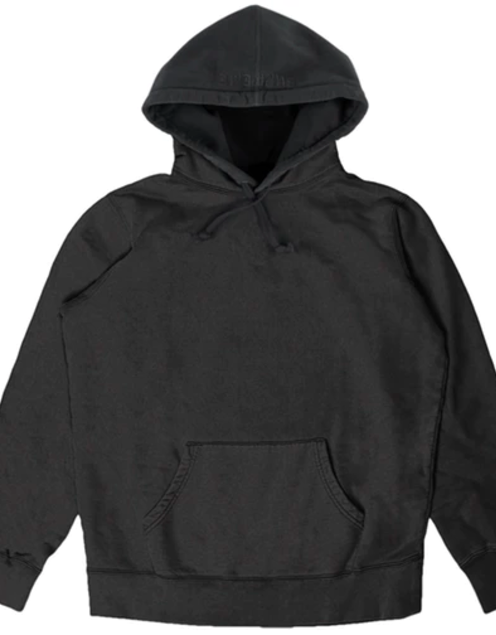 SUPREME SUPREME OVERDYED HOODED SWEATSHIRT-LARGE
