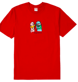 SUPREME BITE TEE RED XL DS