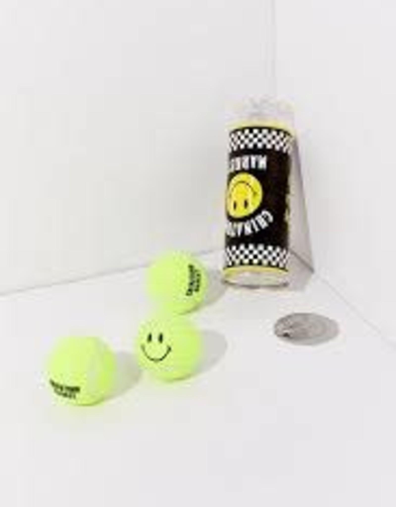 CHINATOWN SMILEY TENNIS BALL TUBE