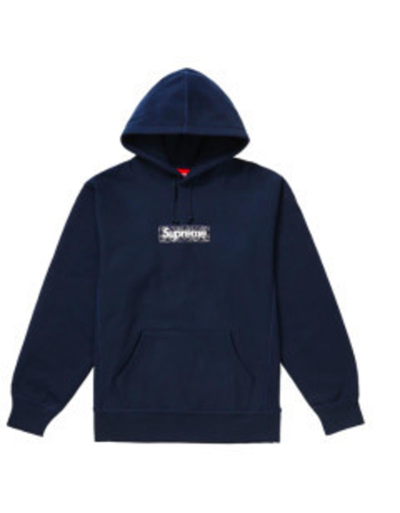 SUPREME DOUSED-Supreme Bandana Box Logo Hooded Sweatshirt