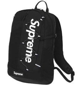 SUPREME Supreme SS17 Backpack Black WORN