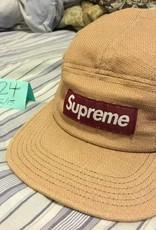SUPREME Supreme Basketweave Camp Cap ss12 worn
