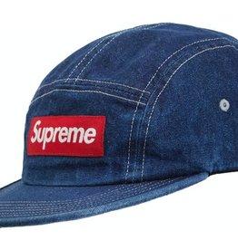 SUPREME Supreme Washed Chino Twill Camp Cap (SS19) Denim DS