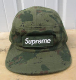 SUPREME Supreme Chip Camo Camp Cap fw12 worn