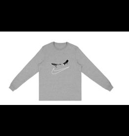 TRAVIS SCOTT Travis Scott Cactus Jack For Nike SB Longsleeve T-Shirt II Grey