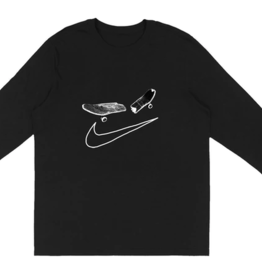 TRAVIS SCOTT Travis Scott Cactus Jack For Nike SB Longsleeve T-Shirt I Black