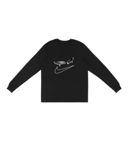 TRAVIS SCOTT Travis Scott Cactus Jack For Nike SB Longsleeve T-Shirt I Black