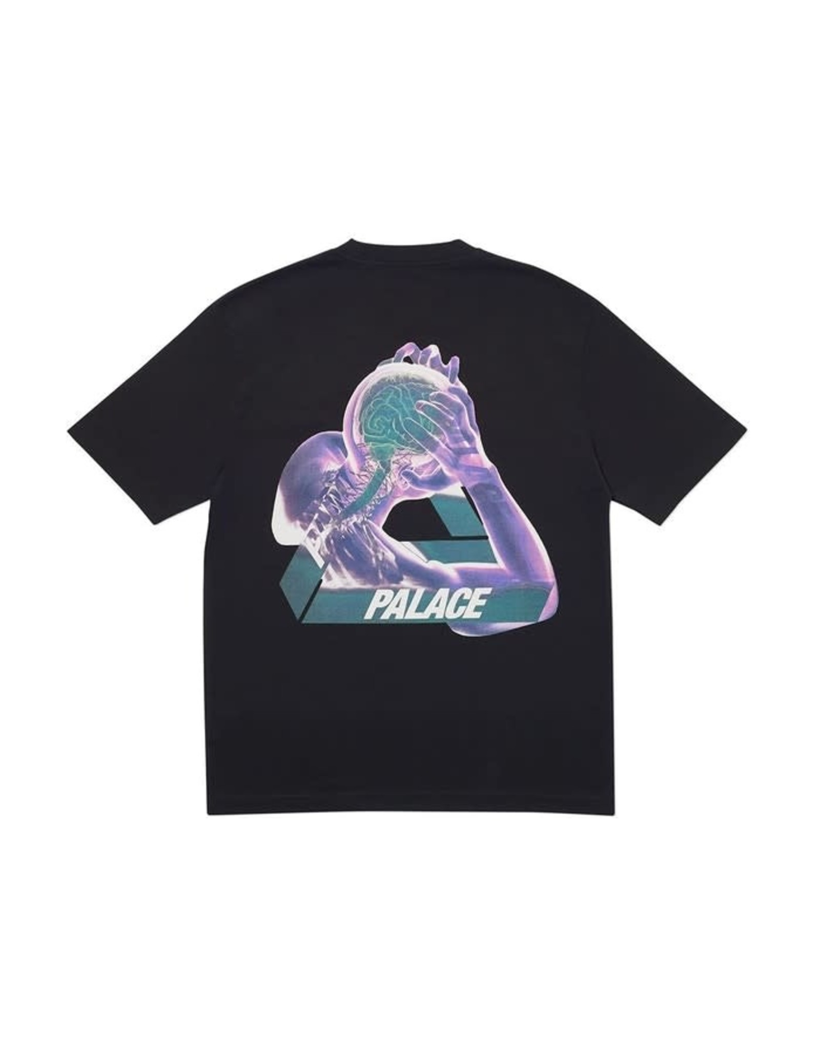 PALACE DOUSED-Palace Tri-Gaine T-Shirt Black-MED