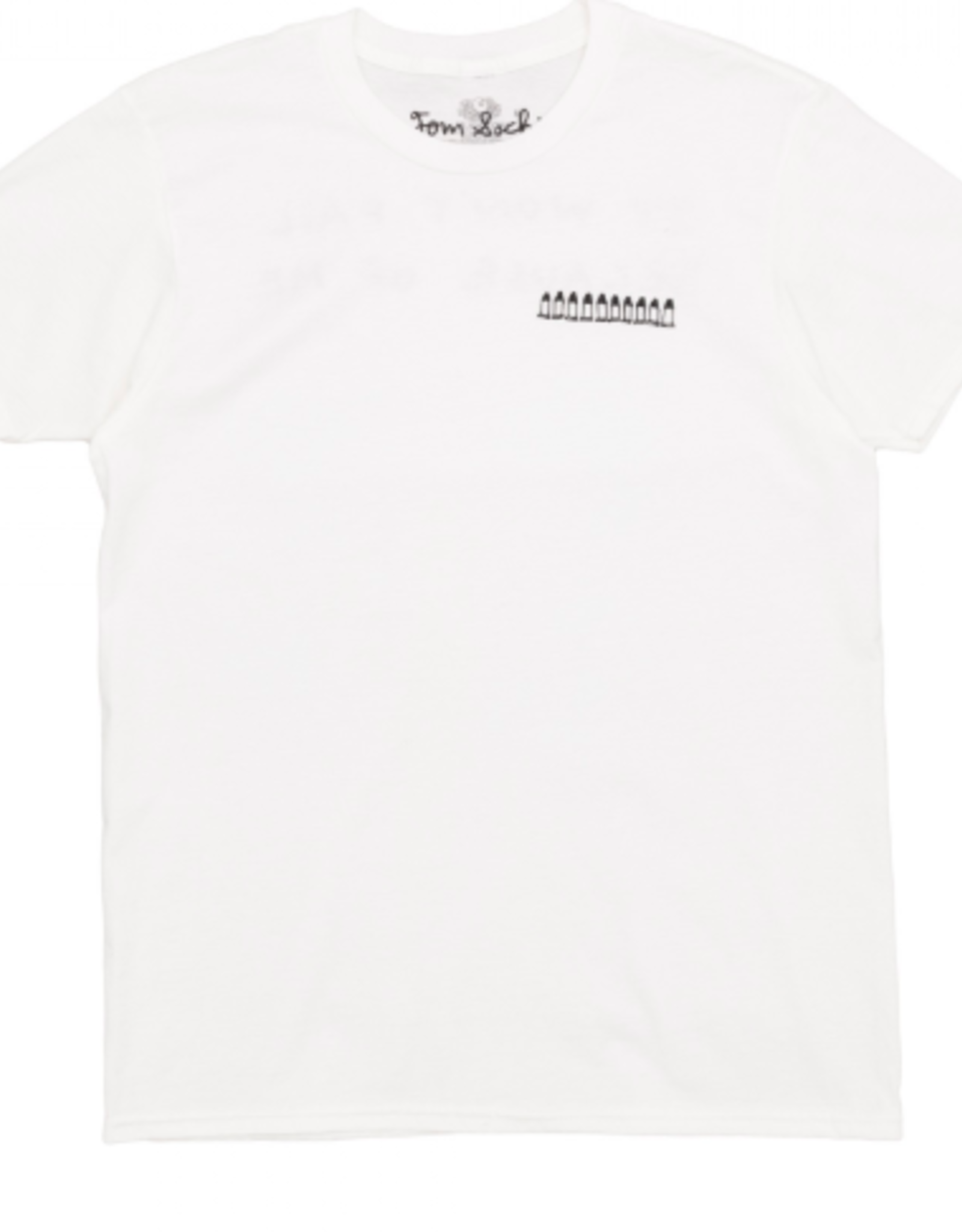 NIKE Dover Street Market E-SHOP Nike x Tom Sachs Short Sleeve T-Shirt (White)