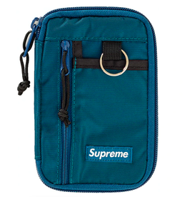 SUPREME Supreme Small Zip Pouch Dark Teal