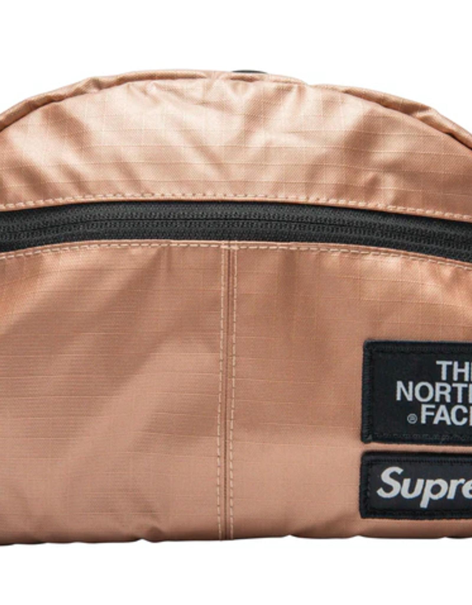 SUPREME Supreme The North Face Metallic Roo II Lumbar Pack Rose Gold