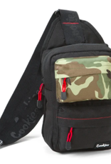 COOKIES COOKIES SMELL PROOF RACK PACK SLING BAG