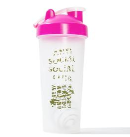 ASSC Undefeated x Anti Social Social Club Corey Shaker Bottle Pink