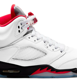 JORDAN Jordan 5 Retro Fire Red Silver Tongue 2020 (GS)